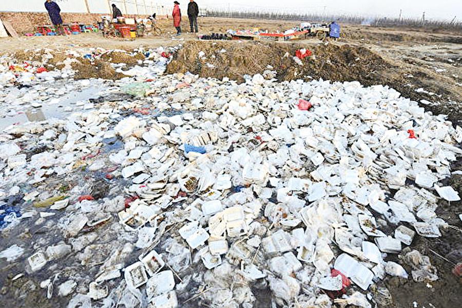 中國的垃圾分類與 焚燒「大躍進」
