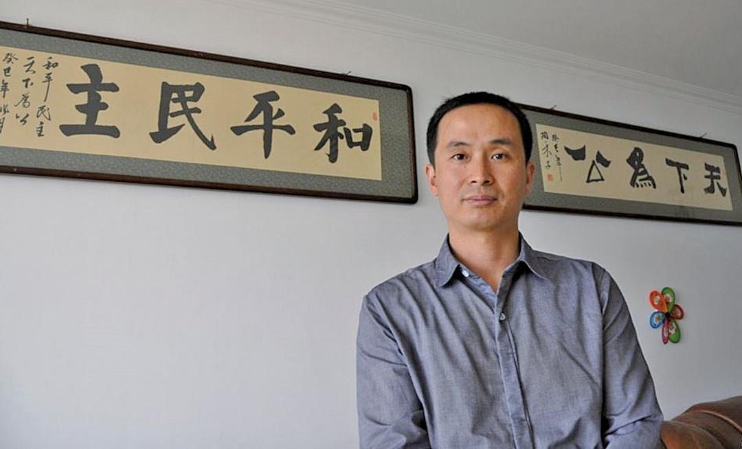 大陸人權律師謝燕益(大紀元資料圖片)