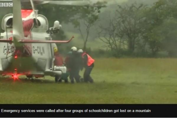 26名英國學生威爾斯山區失蹤 幸運獲救