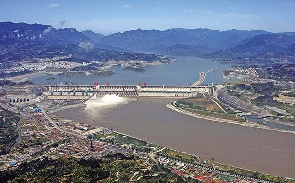 官方承認三峽大壩漂移