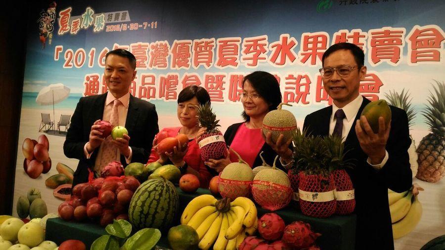 台灣夏季時令水果空運到港