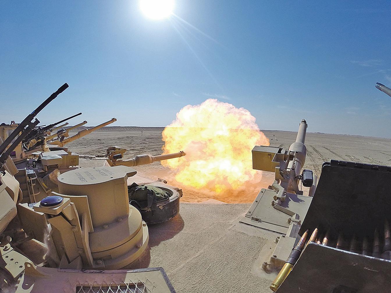 五角大樓國防安全合作局(DSCA)表示,將出售台灣所要求的武器。圖為軍售案內的M1A2T艾布拉姆斯坦克。(The U.S. Army)