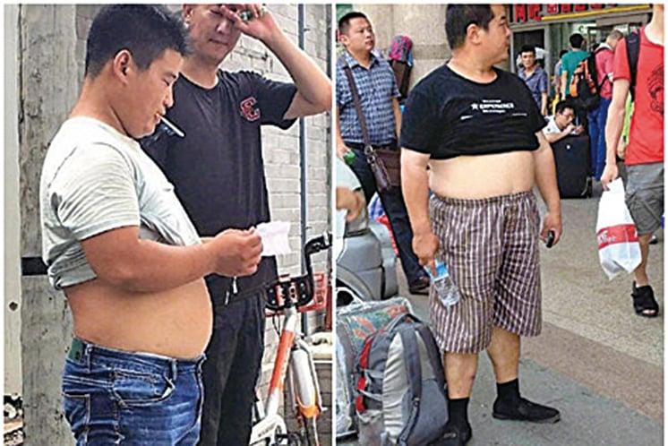 熱天穿衣不自由 大陸多地整治「膀爺」