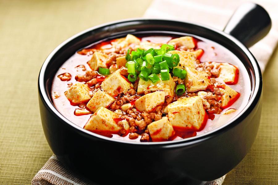 麻婆豆腐與太白鴨