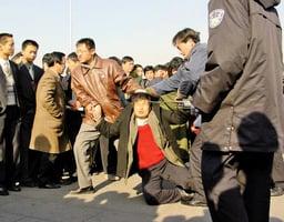 二十年和平反迫害 法輪功學員無懼血雨腥風