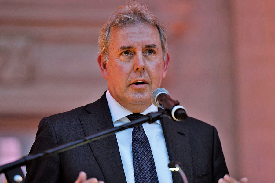 英國駐美國大使辭職