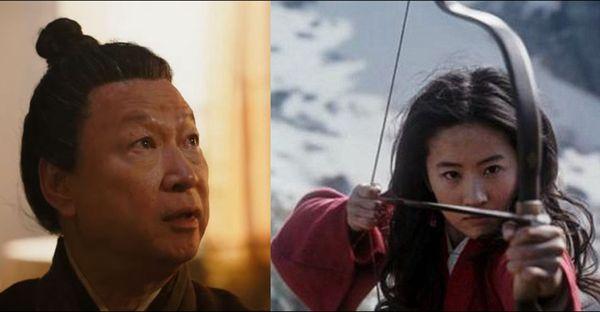 飾演木蘭父親的演員因為長相極似習近平,意外掀起網友討論。 (YouTube截圖)