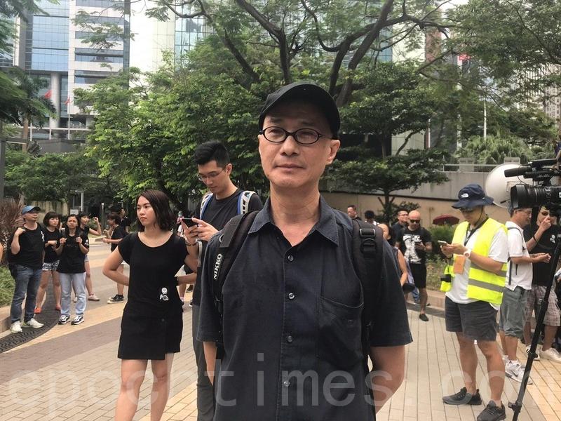 次文化堂社長彭志銘。(林怡/大紀元)