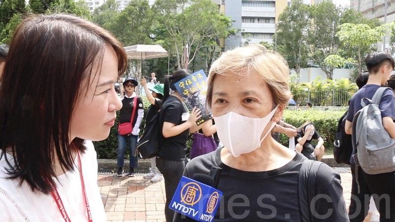 【7.14反送中】葉德嫻7.14再上街 堅持「香港人的訴求」