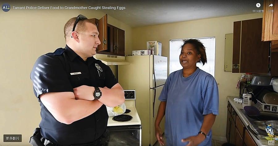 警察善待小偷 「有時最好的處理方式不是逮捕」
