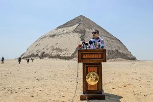 五十年首次 四千多年金字塔開放參觀