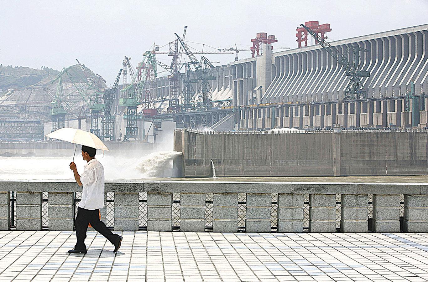 長江三峽大壩。(AFP/Getty Images)