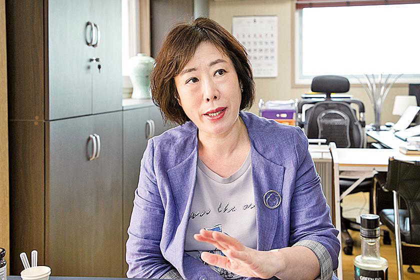 韓國無花醰 CEO 姜昭晶