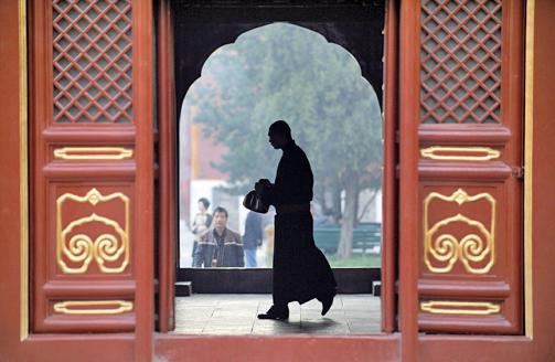 千年寺院成中共政策宣傳地
