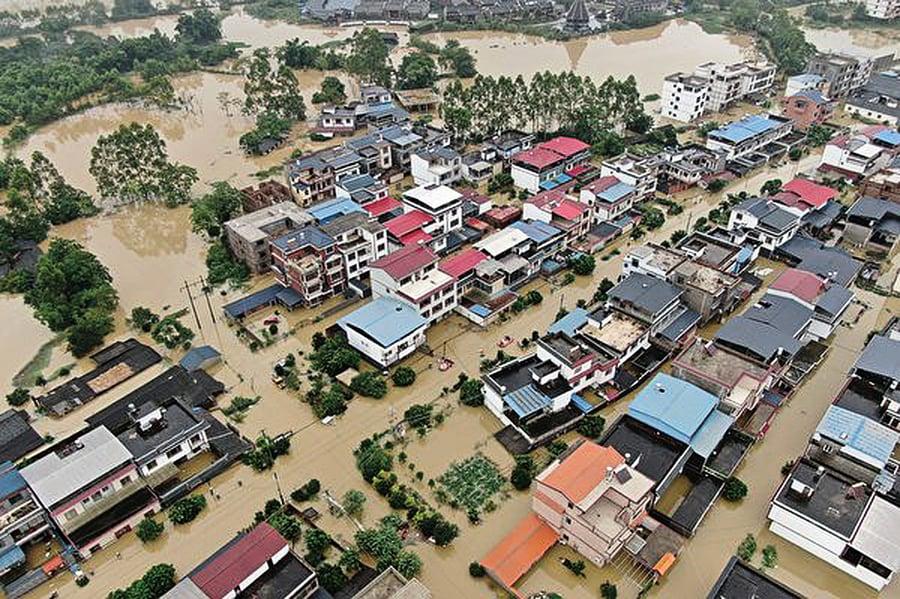 降雨影響 大陸三百七十七條河發超警洪水