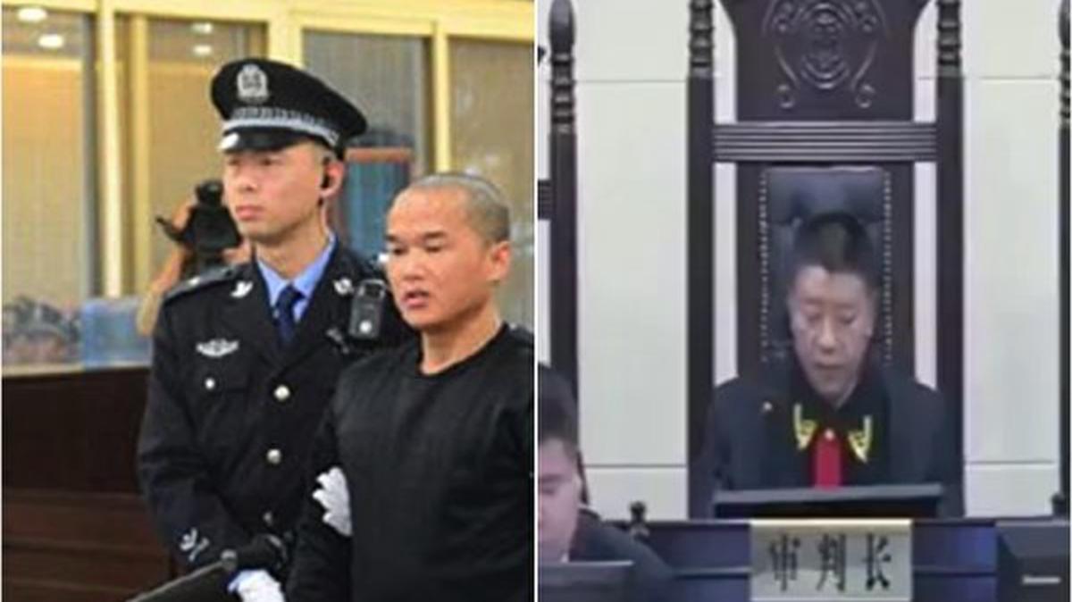 17日,中共最高法院簽發死刑執行命令,對張扣扣執行了死刑。(影片截圖)