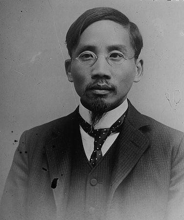 主張反共清黨的蔡元培(維基百科公有領域)