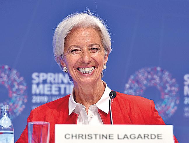 IMF總裁拉加德(Lagarde)7月16日宣布辭職。(AFP)