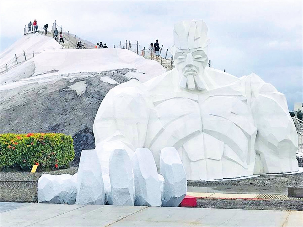 「一見雙雕」藝術季鹽雕展主題之鹽巨人
