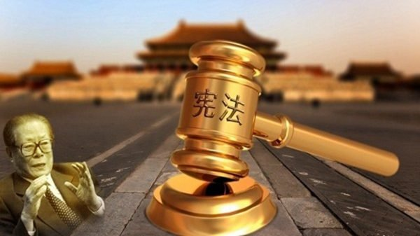 江澤民在海外尚且搞得如此肆無忌憚,在國內對法輪功的迫害就更不用說了。(新唐人合成)