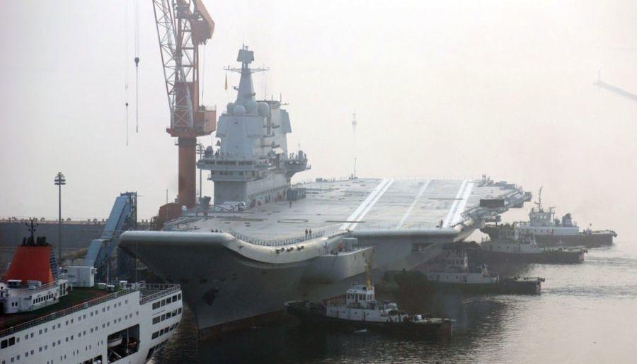 未達初始作戰能力 傳中共自製航母將缺席十一閱兵