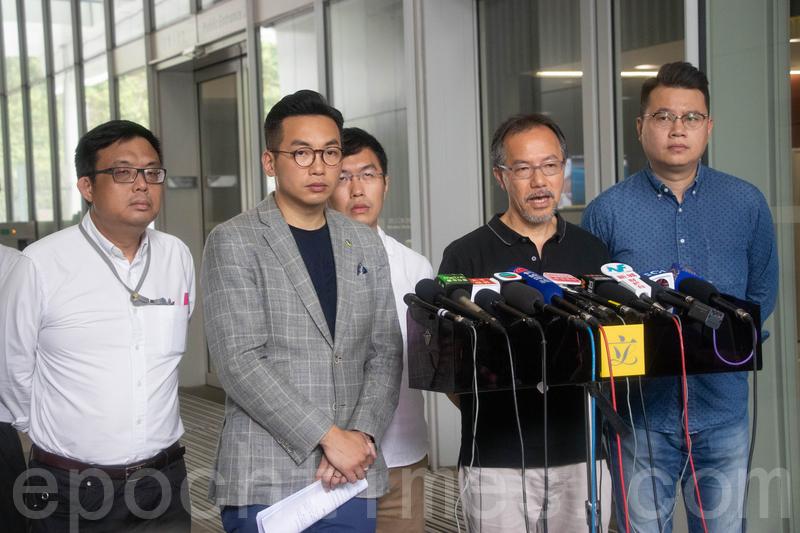 民主派3位立法會議員,先後針對台灣殺人案提出私人條例草案。張超雄表示,為釋除公眾疑慮,決定撤回草案。楊岳橋的草案則被特首拒絕。(蔡雯文/大紀元)