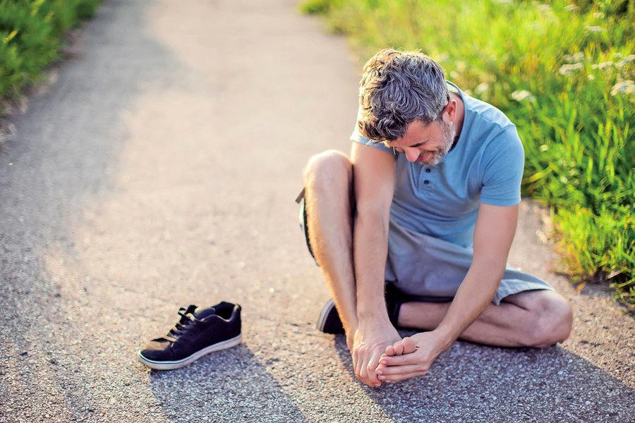 腳痛自己怎麼處理