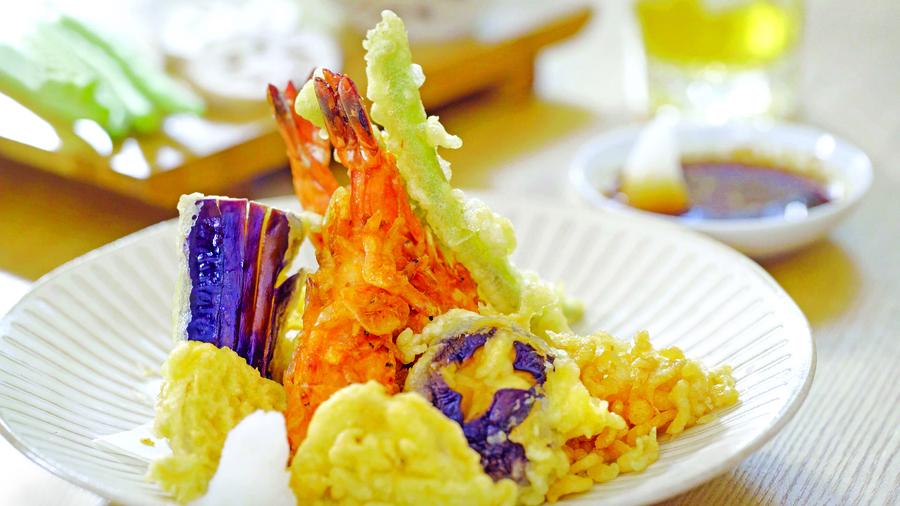 櫻花蝦炸蝦