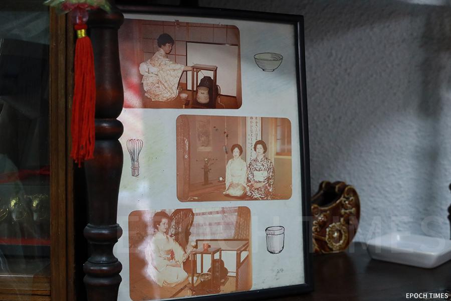 吉野太太教日語、茶道。