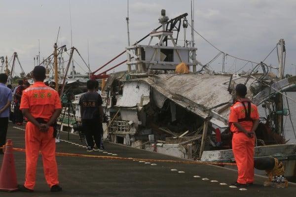 台海軍誤射雄三飛彈 漁船遭貫穿一死三傷