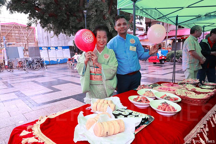 吉野太太融入了長洲社區,今年更參與太平清醮期間的「齊齊齋」活動,推出素食食譜,嚮應齋戒。