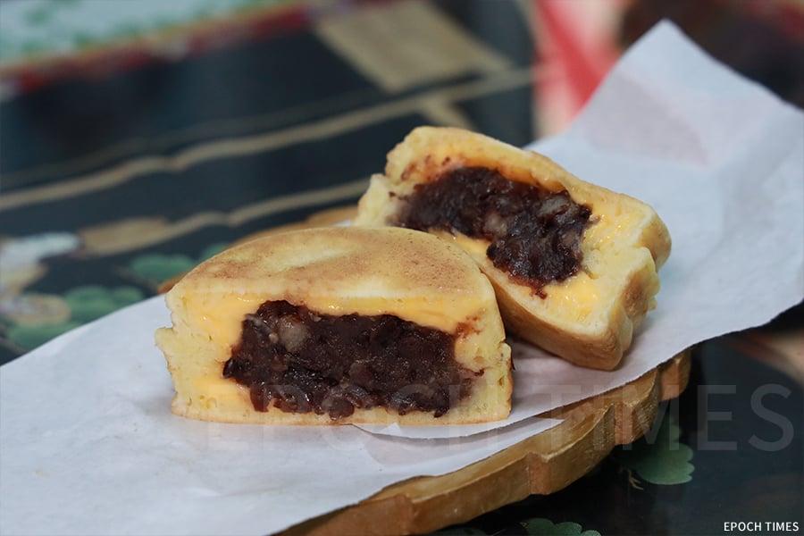 故鄉茶寮的紅豆餅。