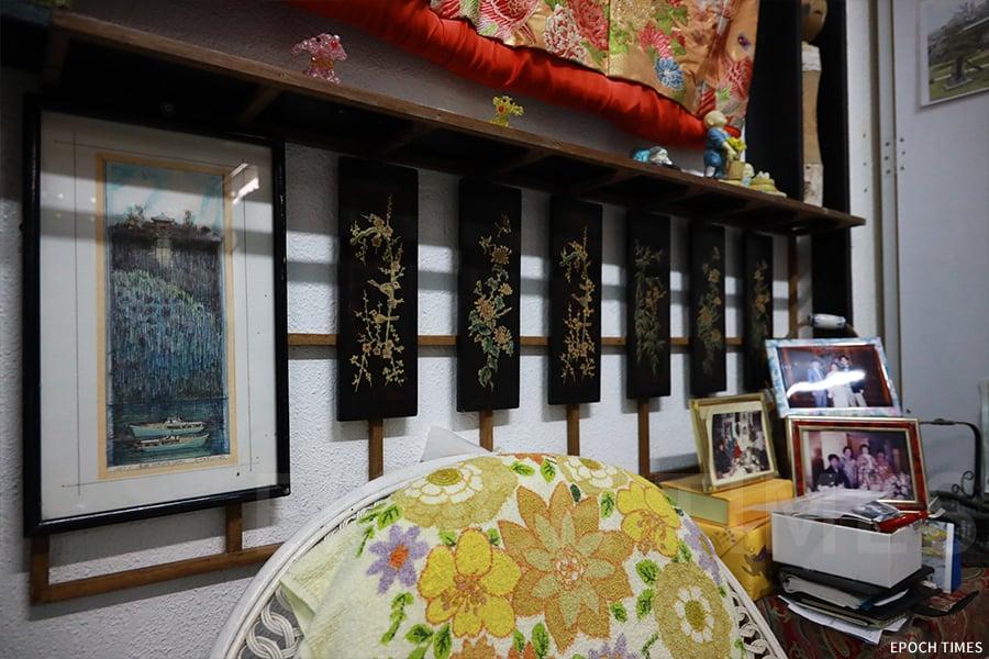 吉野太太樂於教日本文化,茶寮的佈置也具有日式風情。