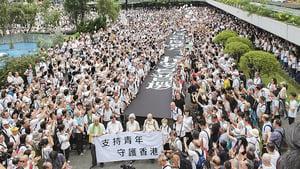香港處十字路口港府近乎癱瘓中南海博弈