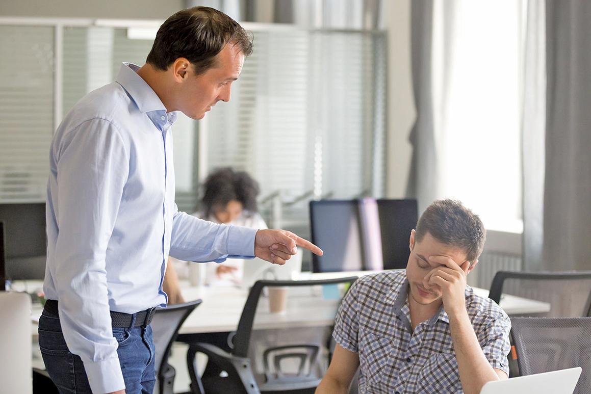 好教練(好領導)必須勇於與他人正面衝突。