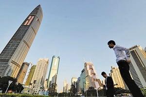 經濟下行縮影 深圳寫字樓空置率65.7%