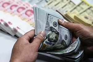 人民幣兌美元 跌至近兩周來新低