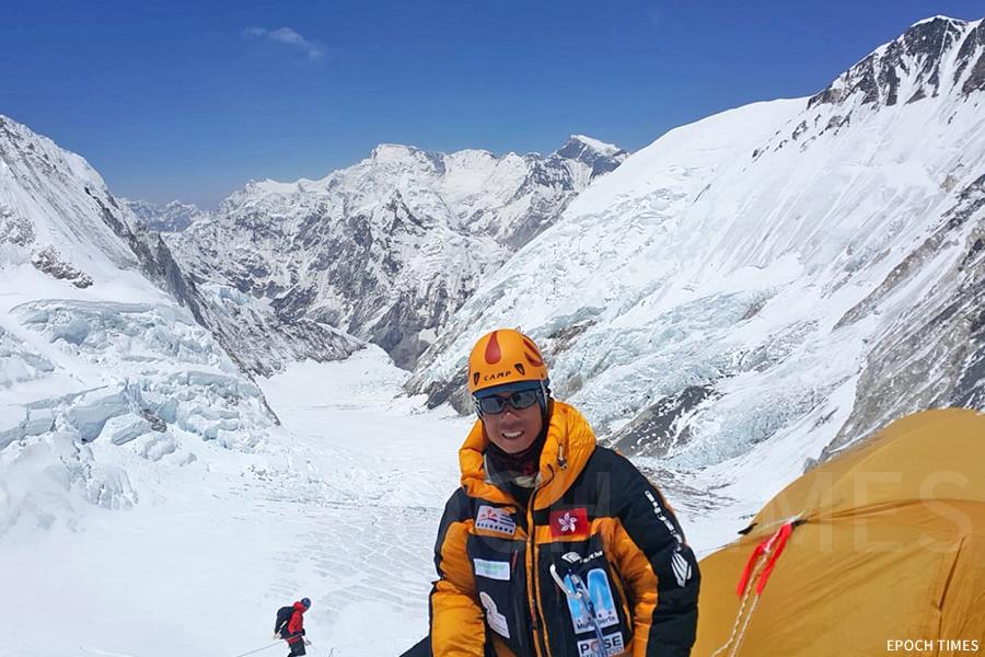 黃偉建分享:「爬山來對我來說,是從事一個運動,我只不過做了我喜歡做的戶外運動而已。我們不能說征服大自然,山是不可能被征服的。」(受訪者提供)