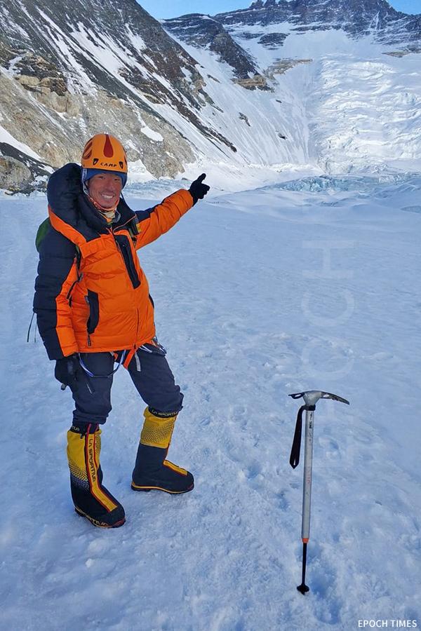 黃偉建認為爬山的過程才是最值得珍惜的。(受訪者提供)