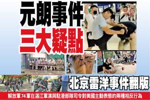 元朗事件三大疑點 北京雷洋事件翻版