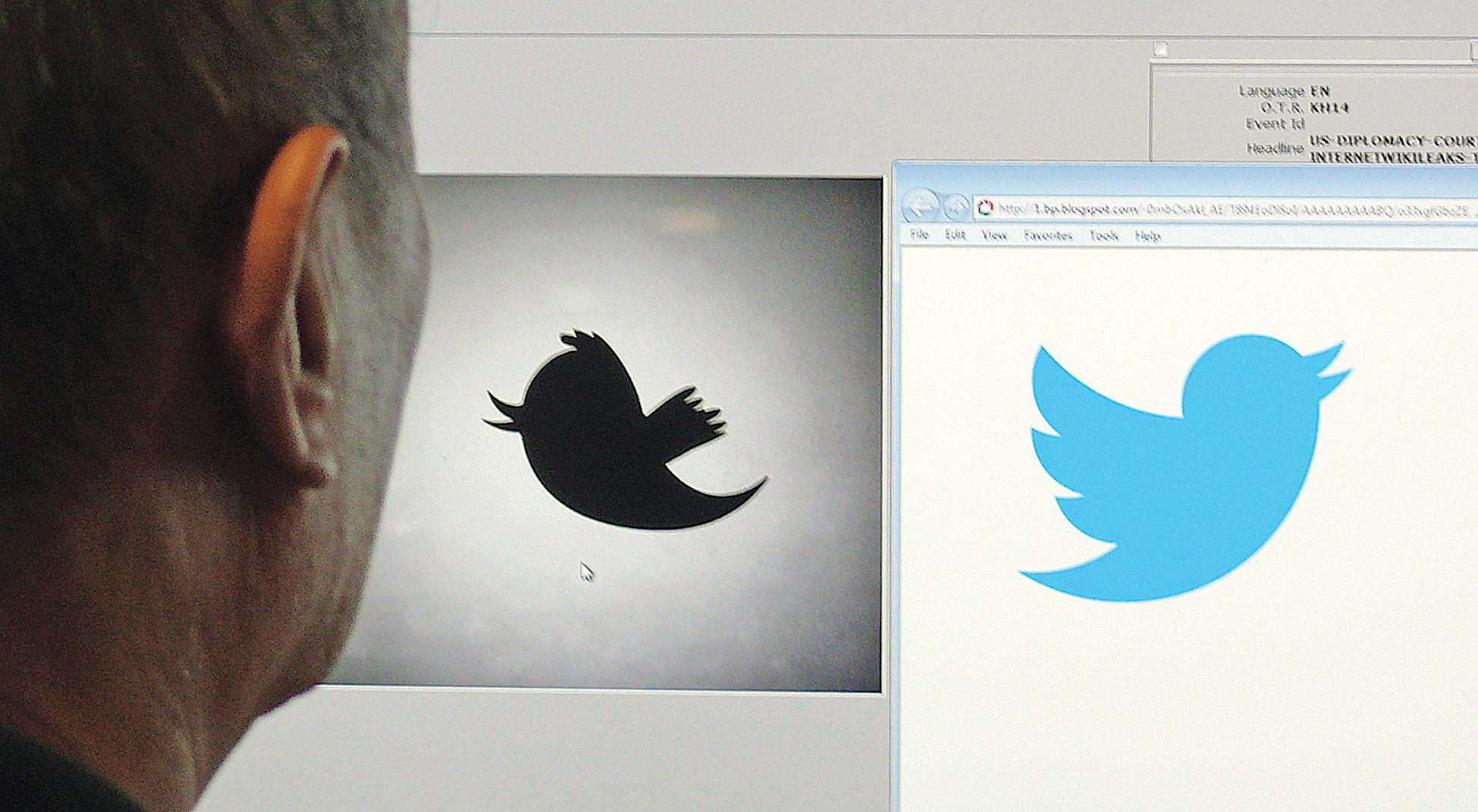 社交媒體推特(Twitter)成為中共外交官在海外爭取輿論的新戰場。忌諱直言的中共外交官看似突然反轉,用推特跟西方民眾更直接、更積極對話,但實際上並非對話,而是宣傳中共觀點。(AFP PHOTO / Douglas E. CURRAN)