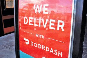 食品配送公司DoorDash異軍突起 獲麥當勞青睞