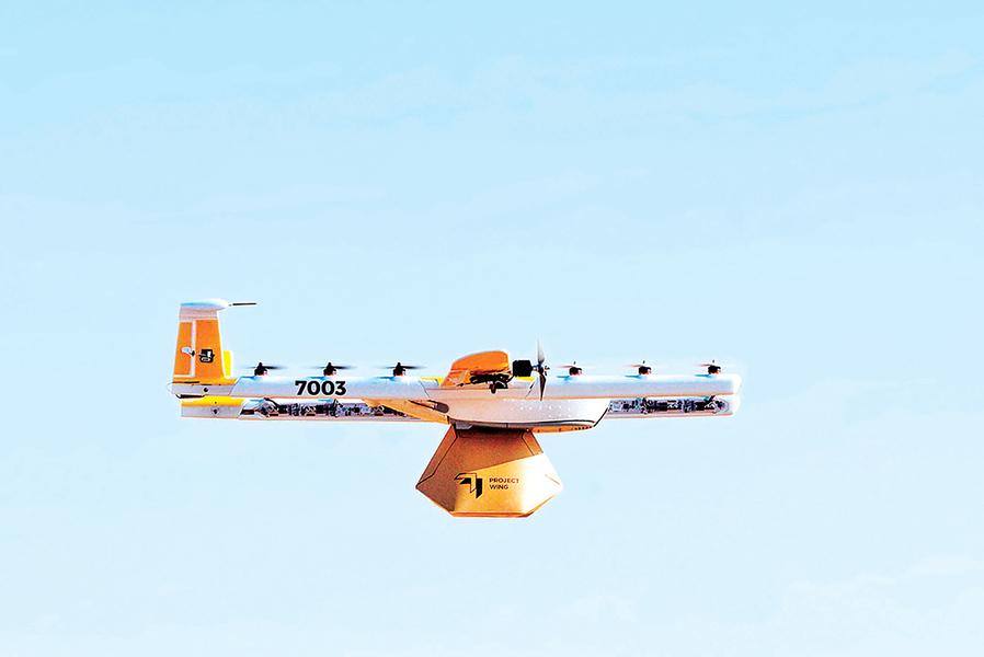 谷歌子公司Wing推出無人機管理程式
