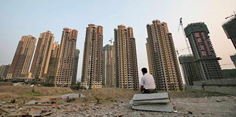 截至7月23日,中國上半年共有超過270家房地產企業宣告破產。僅7月以來,破產的房地產企業就有26家。(Getty Images)