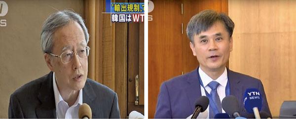 貿易戰延燒WTO  日擬將韓從「白色名單」除名