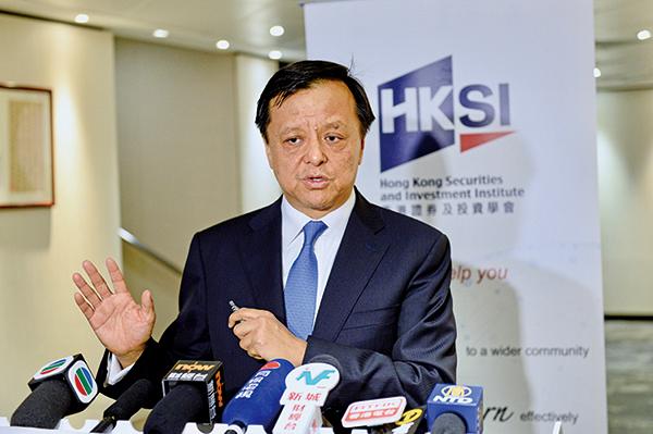 港交所行政總裁李小加表示,香港人應該一起找出辦法走出困境,實現港人治港。(宋碧龍/大紀元)
