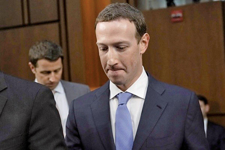 2018年4月11日,臉書首席執行官朱克伯格(Mark Zuckerberg)前往華盛頓特區國會山的眾議院聽證會上作證。(Getty Images)