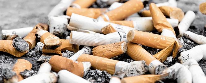 近日有研究指出,香煙有可能是全球最普遍的人造污染物和最常被亂丟的垃圾。(Paweł Czerwiński)