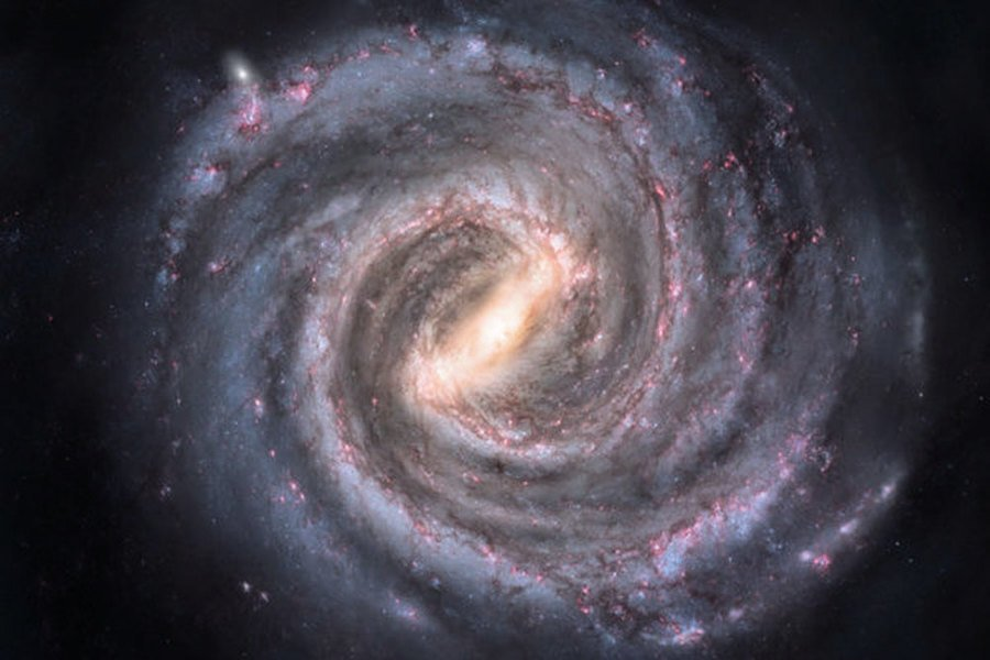 銀河系曾撞上矮星系 劇烈影響持續數十億年