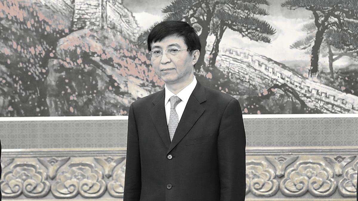 王滬寧可能是中南海真正操盤者。( Lintao Zhang/Getty Images)